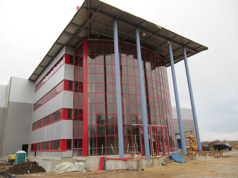Проектирование складского логистического комплекса «Бати Лосино»
