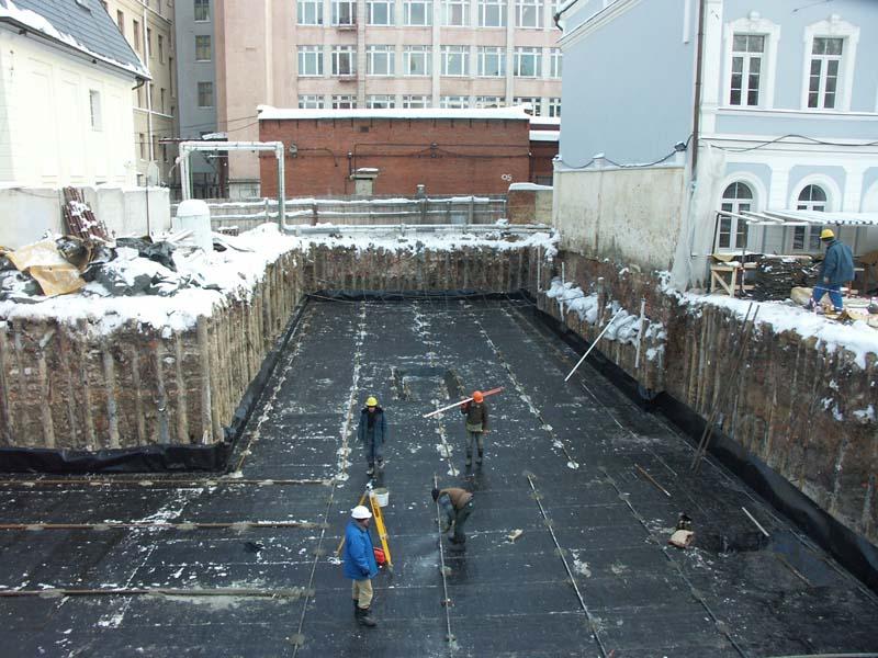 Административное здание в Архангельском переулке в г.Москва