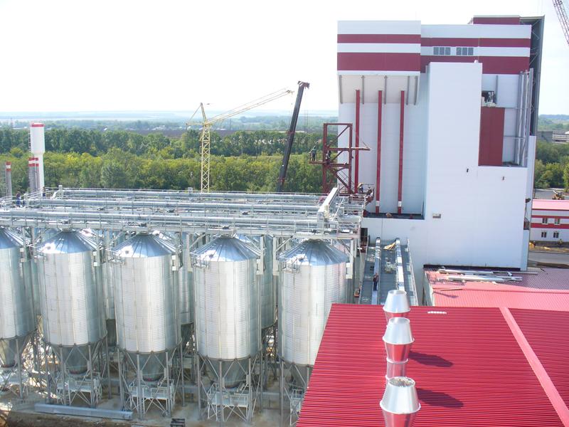 Комбикормовые заводы в Белгородской и Брянской областях