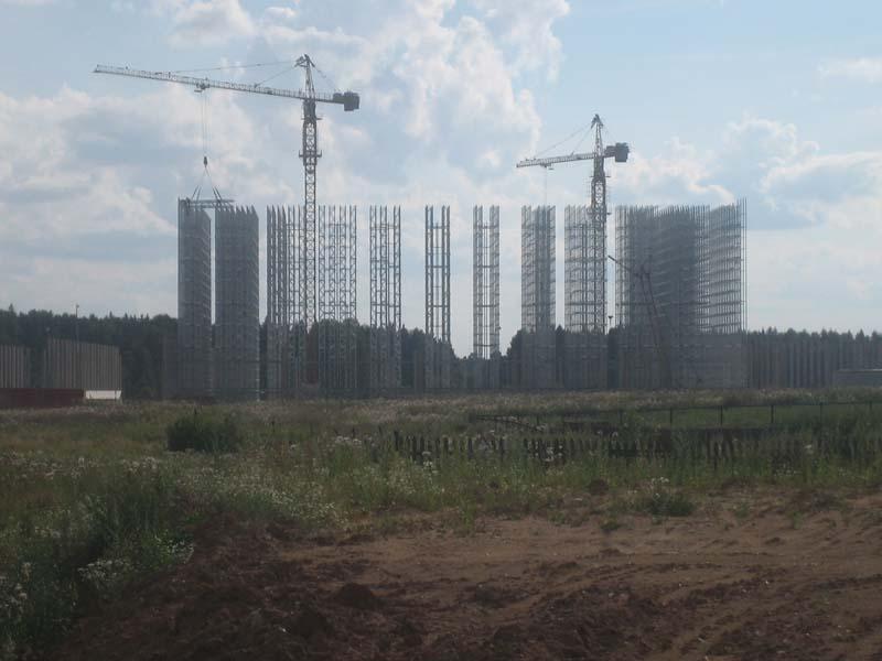 Распределительный центр IKEA в д.Есипово Солнечногорского р-на, МО