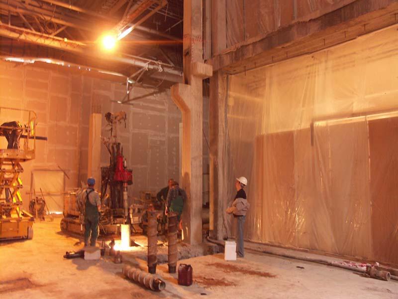 Капитальный ремонт секции «Б» в торгово-семейном комплексе «Мега-Тёплый стан»