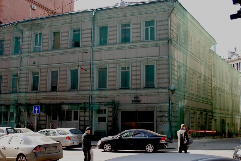 Реконструкция административного здания на ул. Никольская