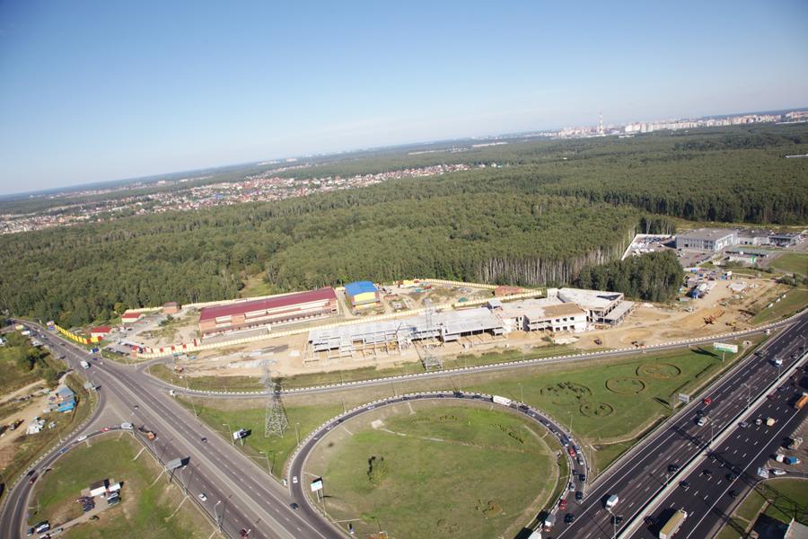 Многофункциональный комплекс «Пеликан-Авто» на пересечении МКАД и Алтуфьевского шоссе