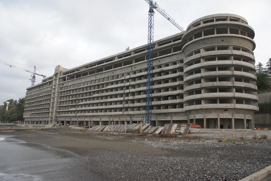 Реконструкция корпуса «Приморский» объединенного санатория «Сочи»