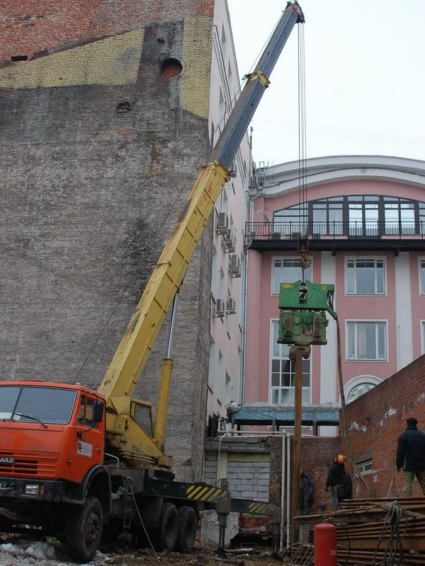 Строительство (регенерация) административного здания на ул. Сретенка