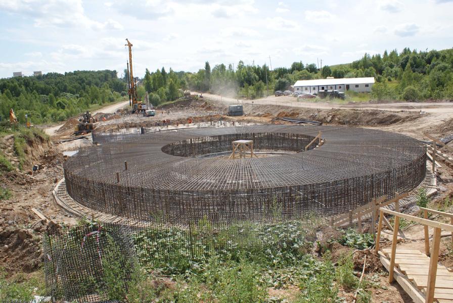 Строительство цементного завода в Тульской области