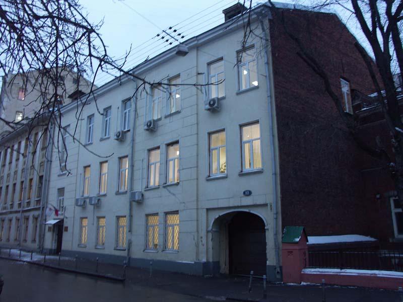 Административное здание СК «РОСНО» в Вознесенском переулке